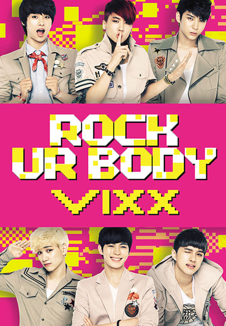 2nd シングル 「Rock Ur Body」