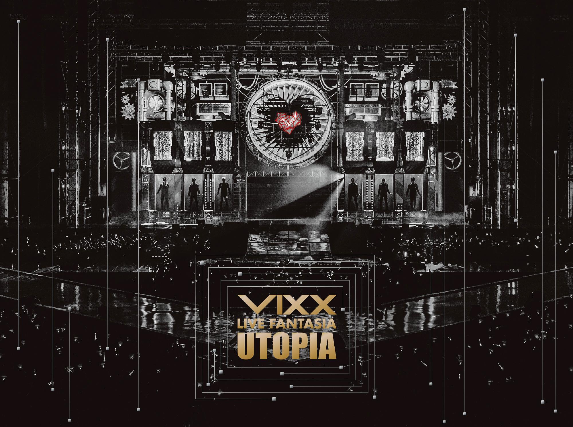 VIXX LIVE FANTASIA UTOPIA DVD(日本限定盤)