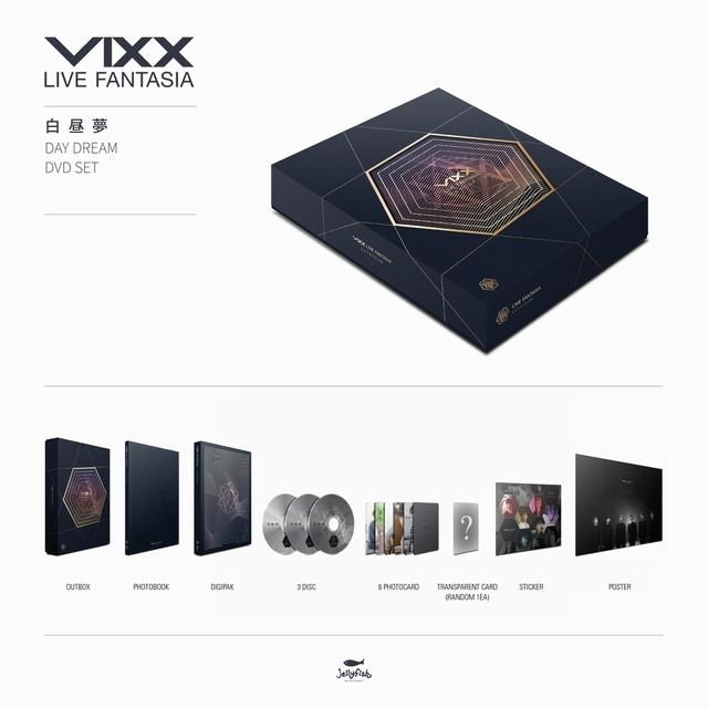 VIXX LIVE FANTASIA 白昼夢DVD(日本限定盤)